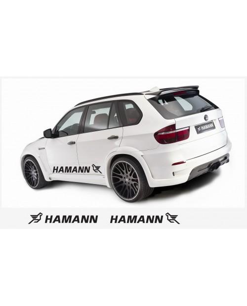 Aufkleber passend für Hamann Seitenaufkleber Aufkleber 2 Stk. 150 cm