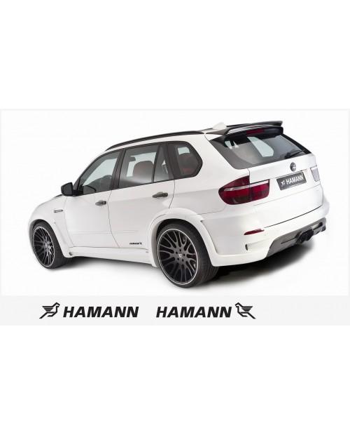 Aufkleber passend für Hamann Seitenaufkleber Aufkleber 2 Stk. 20 cm