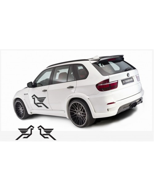 Decal to fit Hamann side decal 2 pcs. 90 cm