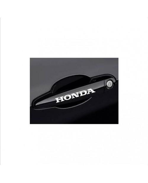 Aufkleber passend für Honda Türgriff Aufkleber 4 Stk.