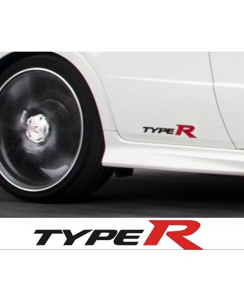 Aufkleber passend für HONDA Type R Seitenaufkleber Aufkleber 2x