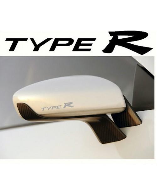 Aufkleber passend für Honda Type R Fenster- Bremssattel- Spiegel Aufkleber - 8 Stück im Set