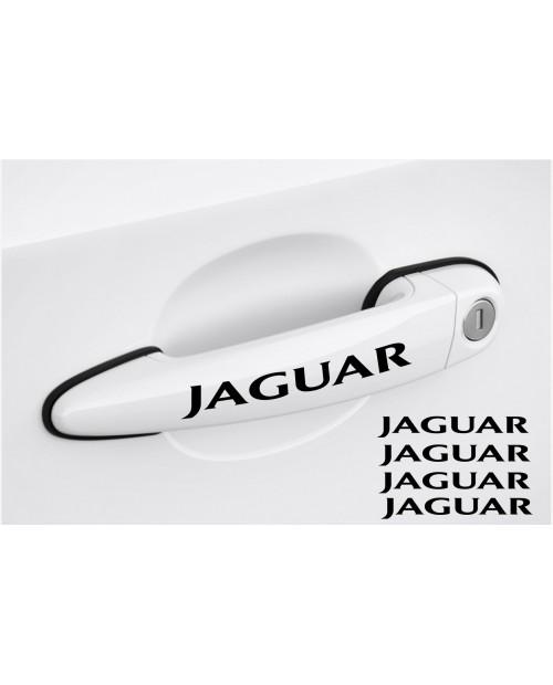 Aufkleber passend für Jaguar Türgriff Aufkleber 4Stk, Satz 120mm