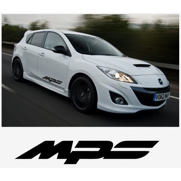 Decal to fit Mazda MPS side decal set 800mm