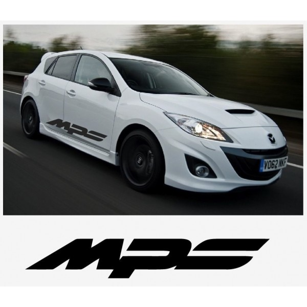 Decal to fit Mazda MPS sport racing side decal set 1400mm