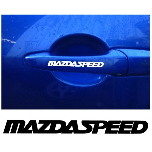 Decal to fit Mazda Speed manigliadecal 4 pcs.