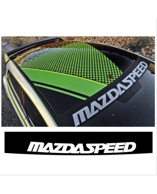 Aufkleber passend für Mazda Speed Frontscheiben Sonnenblendstreifen Aufkleber