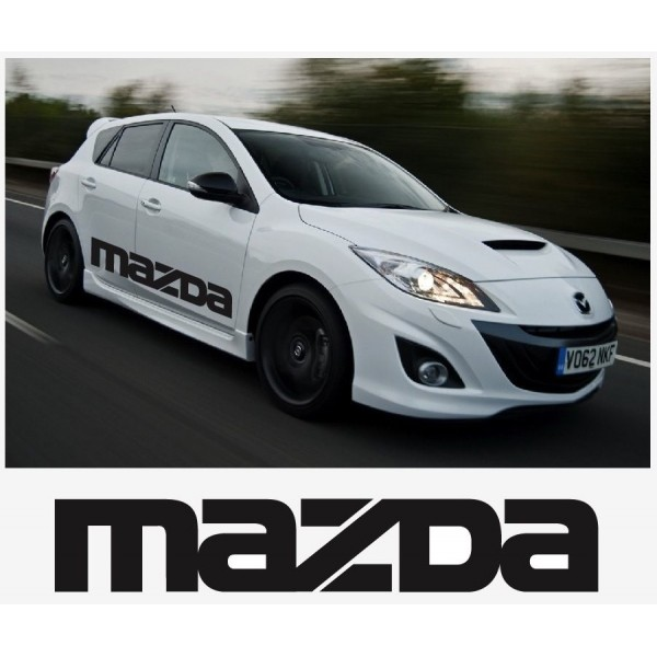 Decal to fit Mazda sport racing side decal set 1400mm