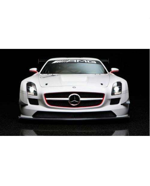 Aufkleber passend für Mercedes AMG Frontscheiben Sonnenblendstreifen Aufkleber 950mm