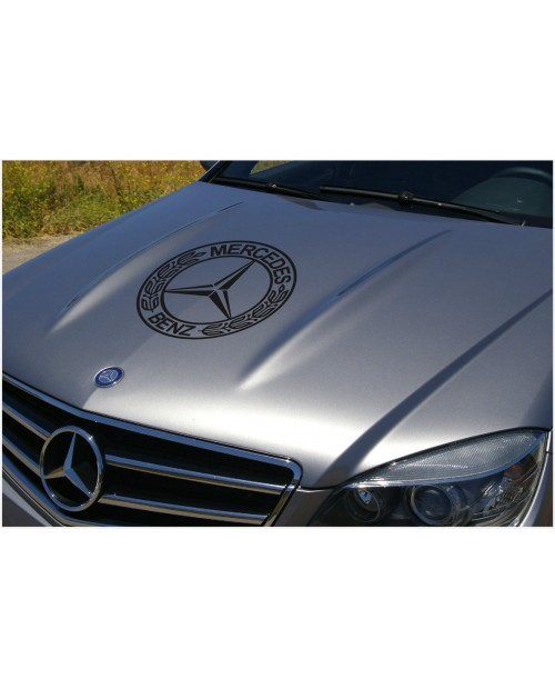 Aufkleber passend für Mercedes Benz Aufkleber Haubenaufkleber 40 cm V.1