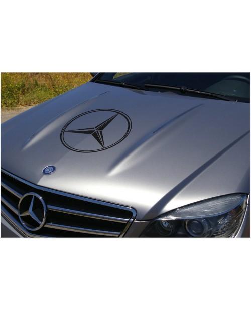 Aufkleber passend für Mercedes Benz Aufkleber Haubenaufkleber 58 cm V.2