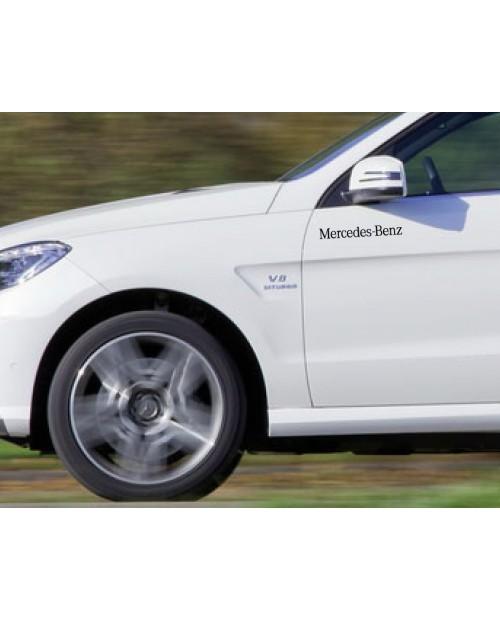 Aufkleber passend für Mercedes Benz Seitenaufkleber Aufkleber 250mm