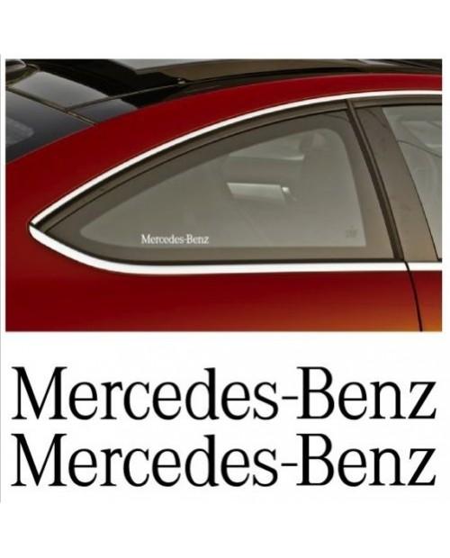Aufkleber passend für Mercedes Benz Seitenaufkleber Aufkleber 2 Stk. Satz 13cm
