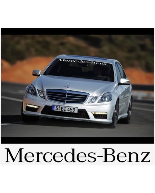 Aufkleber passend für Mercedes Benz Frontscheiben Sonnenblendstreifen Aufkleber