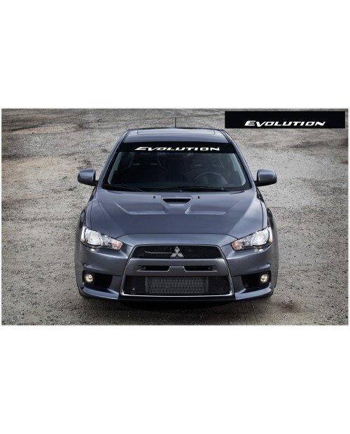 Decal to fit Mitsubishi Evolution Windscreen decal 1400mm