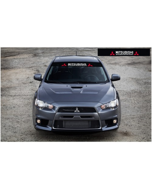 Decal to fit Mitsubishi Lancer Windscreen decal 1400mm