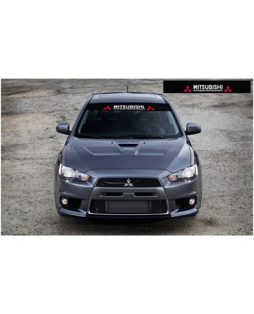 Aufkleber passend für Mitsubishi Lancer Frontscheibe Aufkleber 1400mm