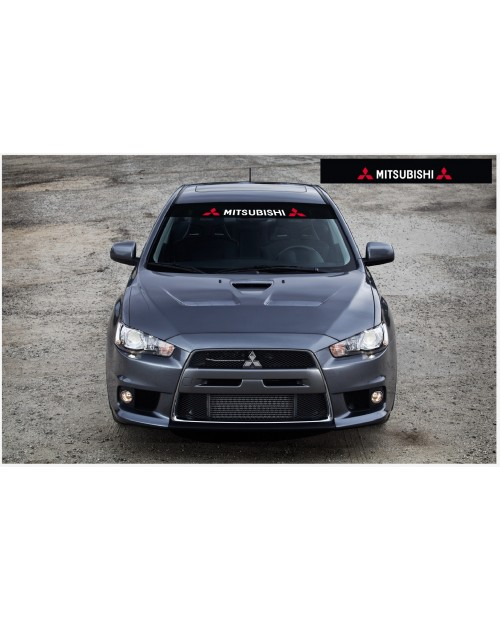 Decal to fit Mitsubishi Motorsport Windscreen decal 1400mm