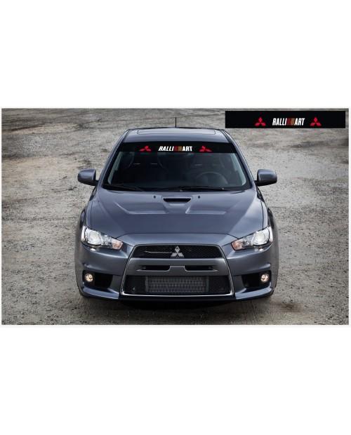 Decal to fit Mitsubishi Ralli Art Motorsport Windscreen decal 1400mm