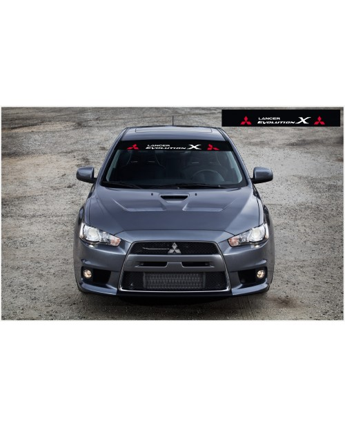 Decal to fit Mitsubishi Windscreen decal 1400mm
