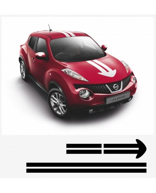 Aufkleber passend für Nissan Juke Nismo motorsport Komplet Satz V1