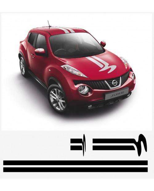 Aufkleber passend für Nissan Juke Nismo motorsport Komplet Satz V2