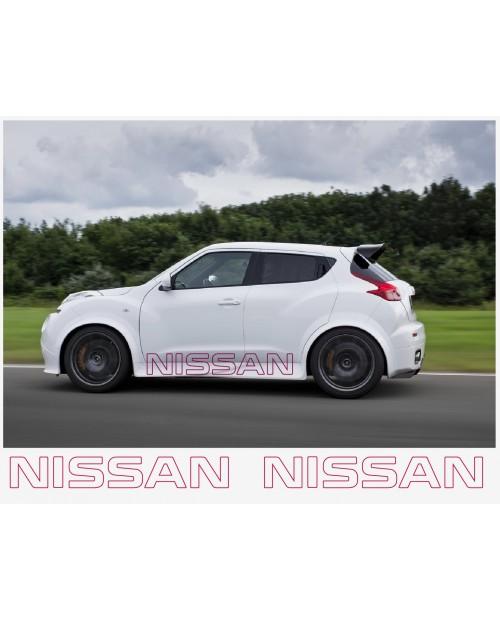 Aufkleber passend für Nissan Nismo motorsport Seitenaufkleber Aufkleber 150 cm 2Stk.