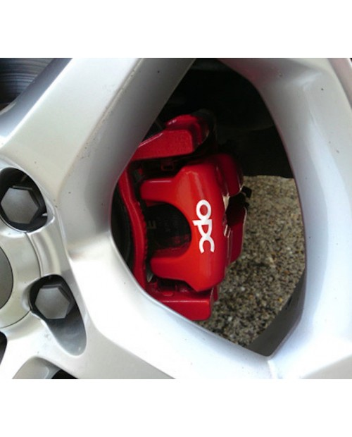 Aufkleber passend für OPC Bremssattel Aufkleber Satz Opel Vectra Corsa Astra Zafira A B C D E F G H