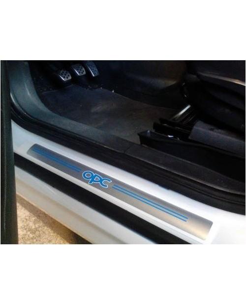 Aufkleber passend für OPC Einstiegsleisten Aufkleber Satz Vectra Corsa Astra Zafira A B C D E F G H