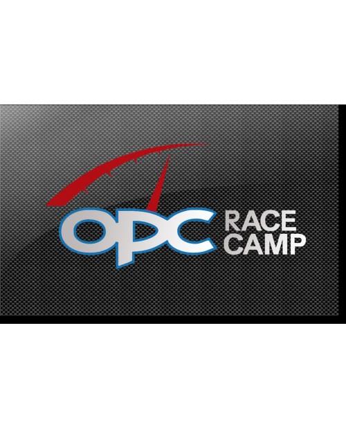 Aufkleber passend für OPC Race Camp Seitenaufkleber Aufkleber Satz 73mm