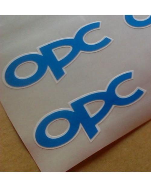 Aufkleber passend für OPC Seitenaufkleber Aufkleber 2x 73mm Opel