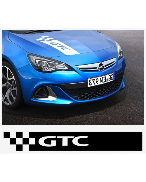 Aufkleber passend für Opel GTC Motorhaube haube Aufkleber Astra Corsa Vectra Zafira A B C D E F G H J