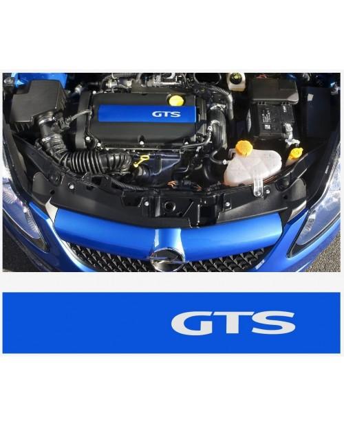 Aufkleber passend für Opel GTS Ventildeckel Aufkleber Vectra Corsa Astra Zafira A B C D E F G H