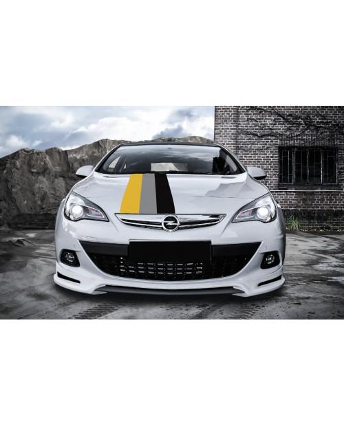Aufkleber passend für Opel Motorsport Rally streifen Aufkleber 45cm x 125cm