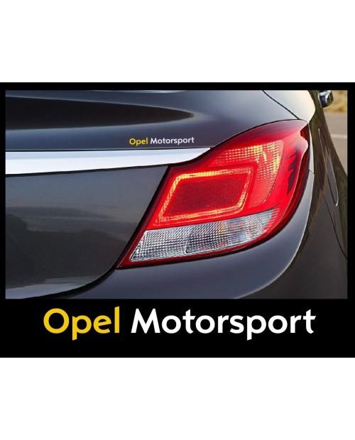 Aufkleber passend für Opel Motorsport Seitenaufkleber Aufkleber 2 Stk. 150Mm
