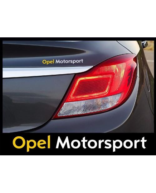 Aufkleber passend für Opel Motorsport Seitenaufkleber Aufkleber 2 Stk. 200Mm