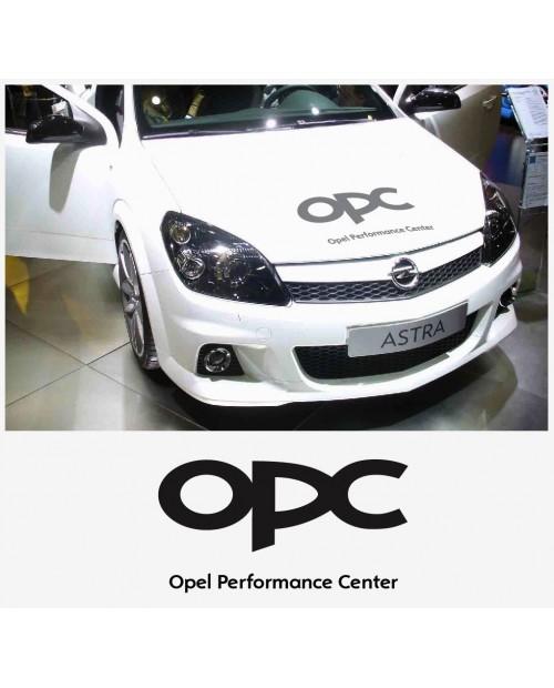 Aufkleber passend für Opel OPC Motorhaube haube Aufkleber Astra Corsa Vectra Zafira A B C D E F G H