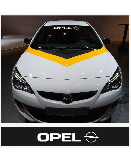 Aufkleber passend für Opel Frontscheiben Sonnenblendstreifen Aufkleber