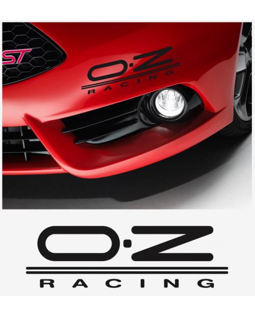 Aufkleber passend für OZ Racing Seitenaufkleber Satz 2Stk, 300mm