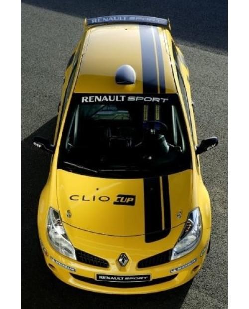 Aufkleber passend für Renault Clio Cup Sport Team Aufkleber Komplet satz