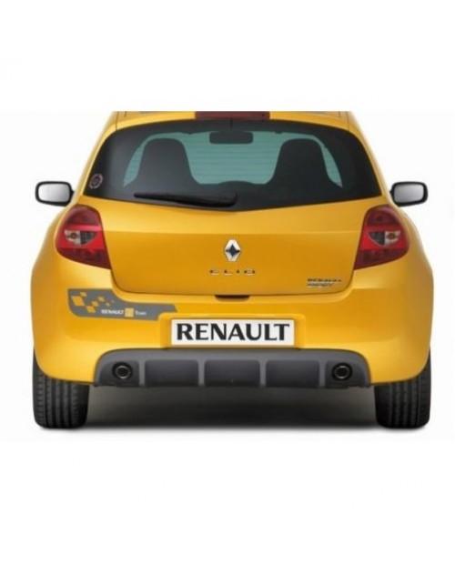 Aufkleber passend für Renault F1 Team Aufkleber Clio Sport Heckaufkleber