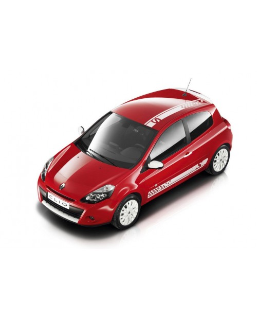 Aufkleber passend für Renault Dachstreife Seitenaufkleber Aufkleber Satz Twingo Clio S Megane