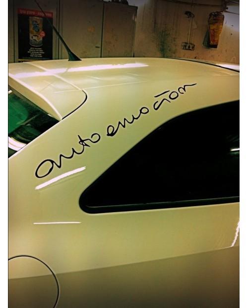 Aufkleber passend für Seat Auto Emocion Sport Seitenaufkleber Aufkleber 2 Stk. Satz 25cm bis 200cm