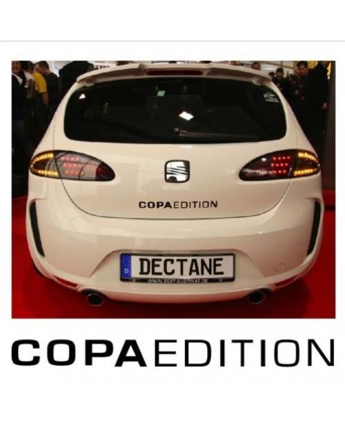 Aufkleber passend für Seat Copa Edition Aufkleber Heckaufkleber 39cm