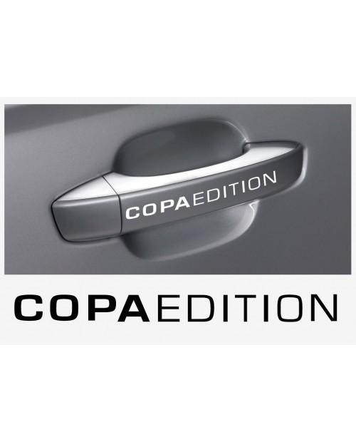 Aufkleber passend für Seat Copa Edition Türgriff Aufkleber 4 Stk.