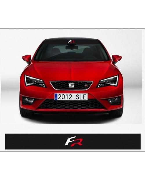Aufkleber passend für SEAT Sport FR Frontscheiben Sonnenblendstreifen Aufkleber