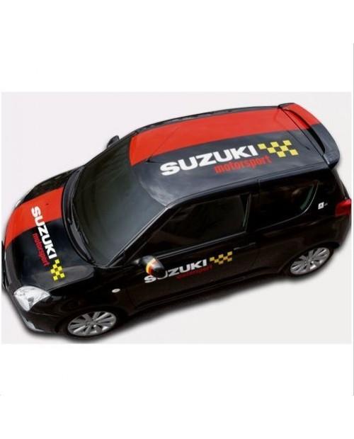 Aufkleber passend für Suzuki Motorsport Sport Team Aufkleber Komplet satz