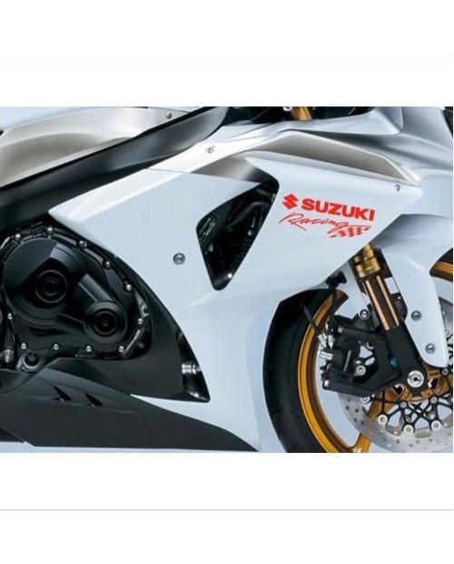 Aufkleber passend für Suzuki Racing Seitenaufkleber Aufkleber 15cm 2Stk. Satz