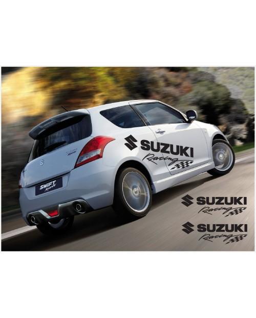 Aufkleber passend für Suzuki Swift Racing Seitenaufkleber Aufkleber 2Stk. Satz 1400mm