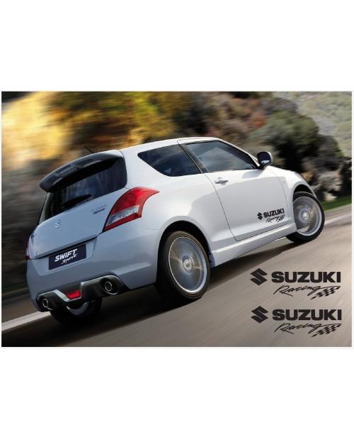Aufkleber passend für Suzuki Swift Racing Seitenaufkleber Aufkleber 2Stk. Satz 350mm